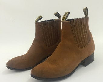 Hand made Genuine Leather boots Made in Mexico