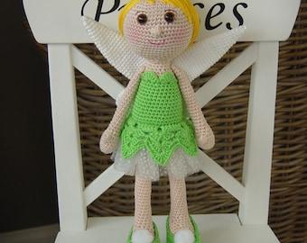 Tinkerbell crochet pattern