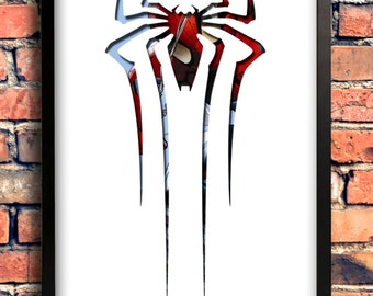 Spiderman Logo Art