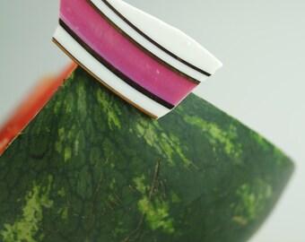 Rosanna porcelain brooch
