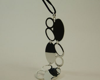 Sterling silver FABI pendant.