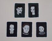 The Addams Family original artwork postcard set - limited run