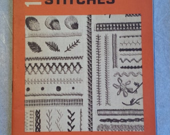 Coats & Clark's Book No.150 One Hundred Embroidery Stitches First Edition