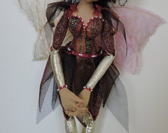 Cloth Art Doll, Fairy