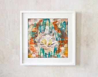 237 - Fine Art Print, Pigment Print, Giclee, Modern Wall Art, Print, Abstract Art, Home Decoration