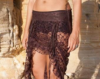 Pixie open skirt (lace) - Zwerg (0073)