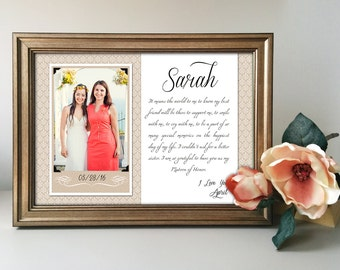Wedding Gift For Cousin Brother : gift for maid of honor gift matron of honor gift bridesmaid gift thank ...