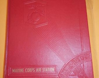 WWII USMC Marine Corps Air Station El Toro Cali Year Book Unit History