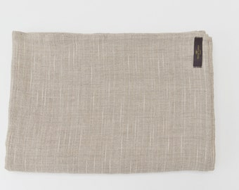 Washed Linen Natural Tablecloth Leja