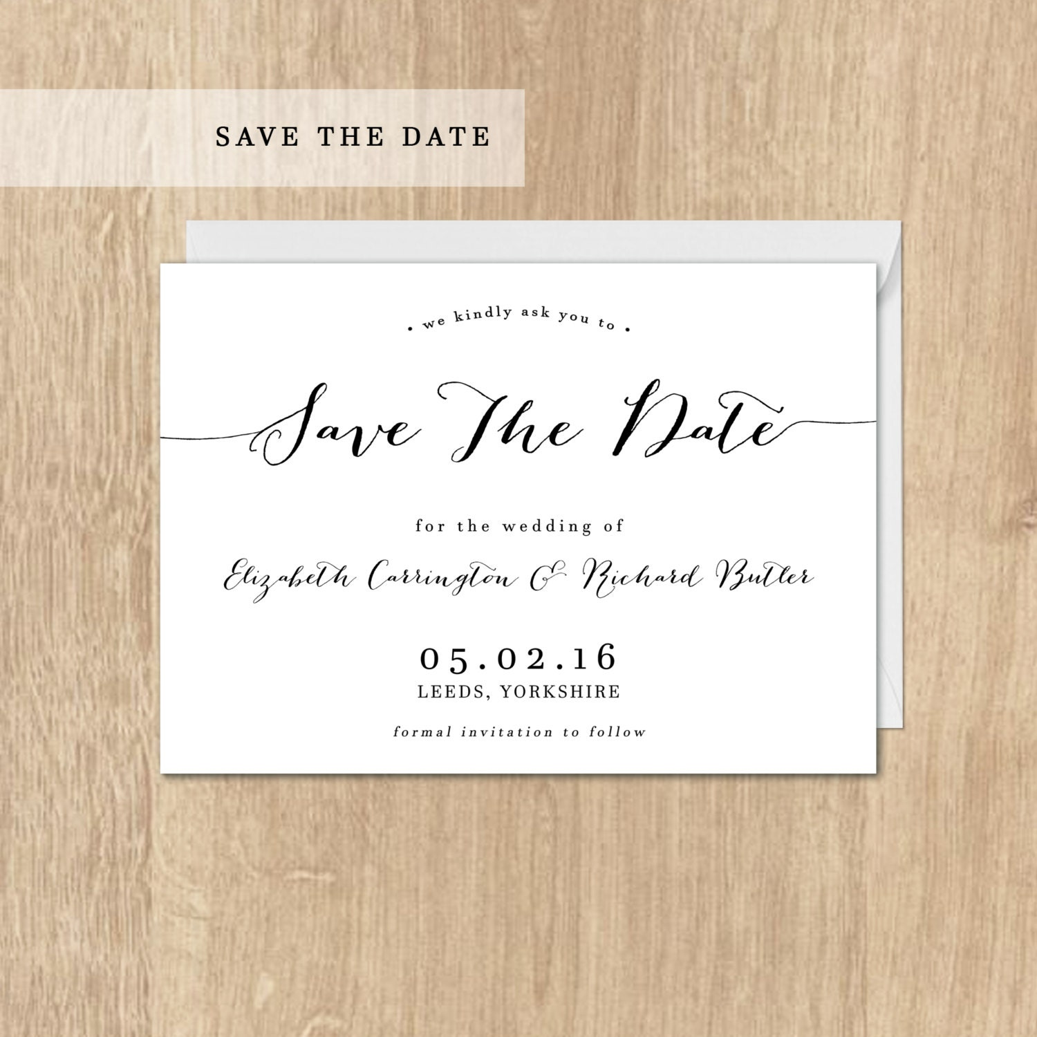 printable save the date card rehearsal save the date postcard