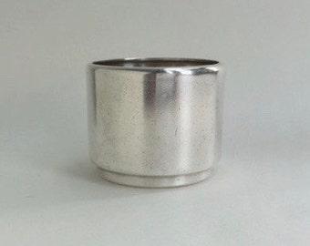 Cunard Ocean Liner Silver-Plated Sugar Bowl