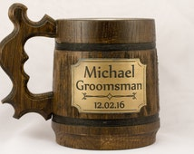 Groomsmen gifts. Mug. Gifts for groom. Groomsmen flask. Best man gift ideas from groom. Gift from best man to groom. Amazing groomsmen gift