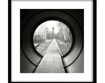 railroad art, abandoned, black and white railroad photography, black and white art, railroad photography, train photography, railway