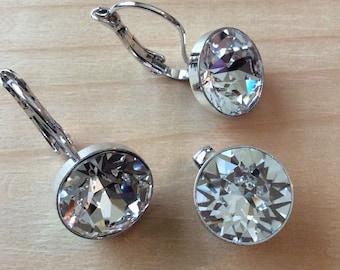 Swarovski Earring and Pendant set