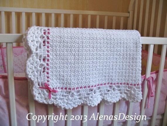 Crochet Pattern 084 Crochet Baby Blanket Crochet