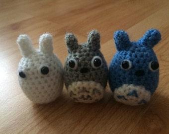 Mini Totoro Crochet Set