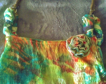 Homemade Multi-Colored Purse