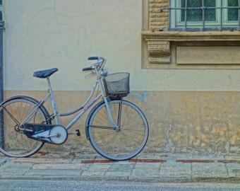Vintage Bicycle Fine Art Print - Bicycle wall art - Vintage -Travel Photography - Bicycle Print