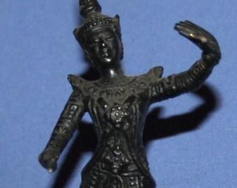Hand Made Metal Dancing Hindu Deity Figurine