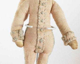 Antique Court Jester Cloth Doll 1920/30s