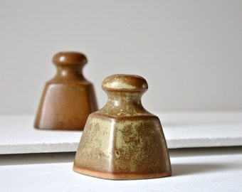 Louis Hudson ceramic salt and pepper shakers