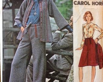Vogue 2953 - Americana Carol Horn Designer Sportswear Separates - Size 14