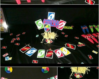 Uno Birthday Decorations. Uno Banner, I am UNO, I am 1