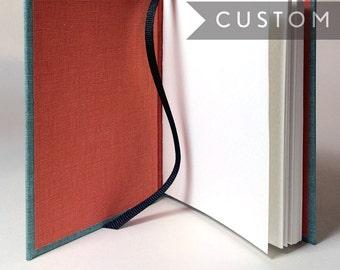 Custom Pocket Notebook // Flexible Hardcover // Made to Order