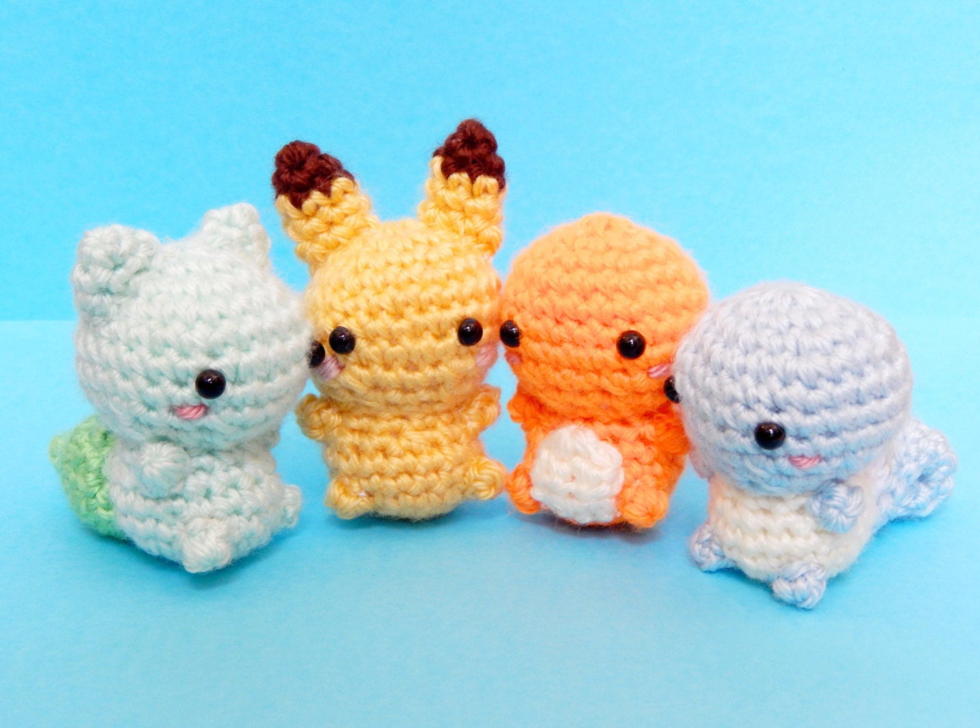 Amigurumi Pokemon Instructions : Pokemon Amigurumi Pokemon Plush Charmander by BubblyTeaShop