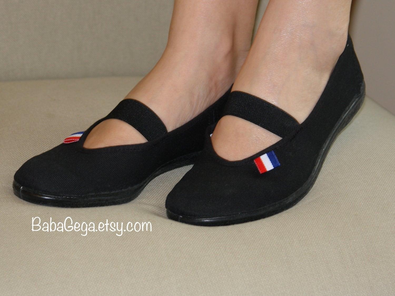 Wedding Flats Black White Wedding Shoes Womans Shoes