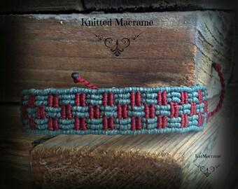 Macrame bracelet\handmade\micromacrame