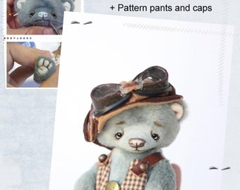 Pattern Teddy Bears 13 cm, master class sew and assemble the bear