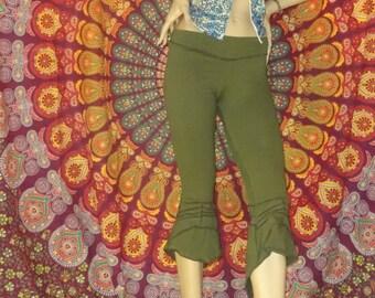 Fairy Leggings, Pixie Leggings, Yoga Leggings, Pilates Leggings,  Stitched Cotton Festival Leggings, Leggings- Multi Colors To Choose From