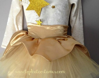 Christmas Star Costume/ Twinkle Twinkle Little Star/New Years Eve Dresses