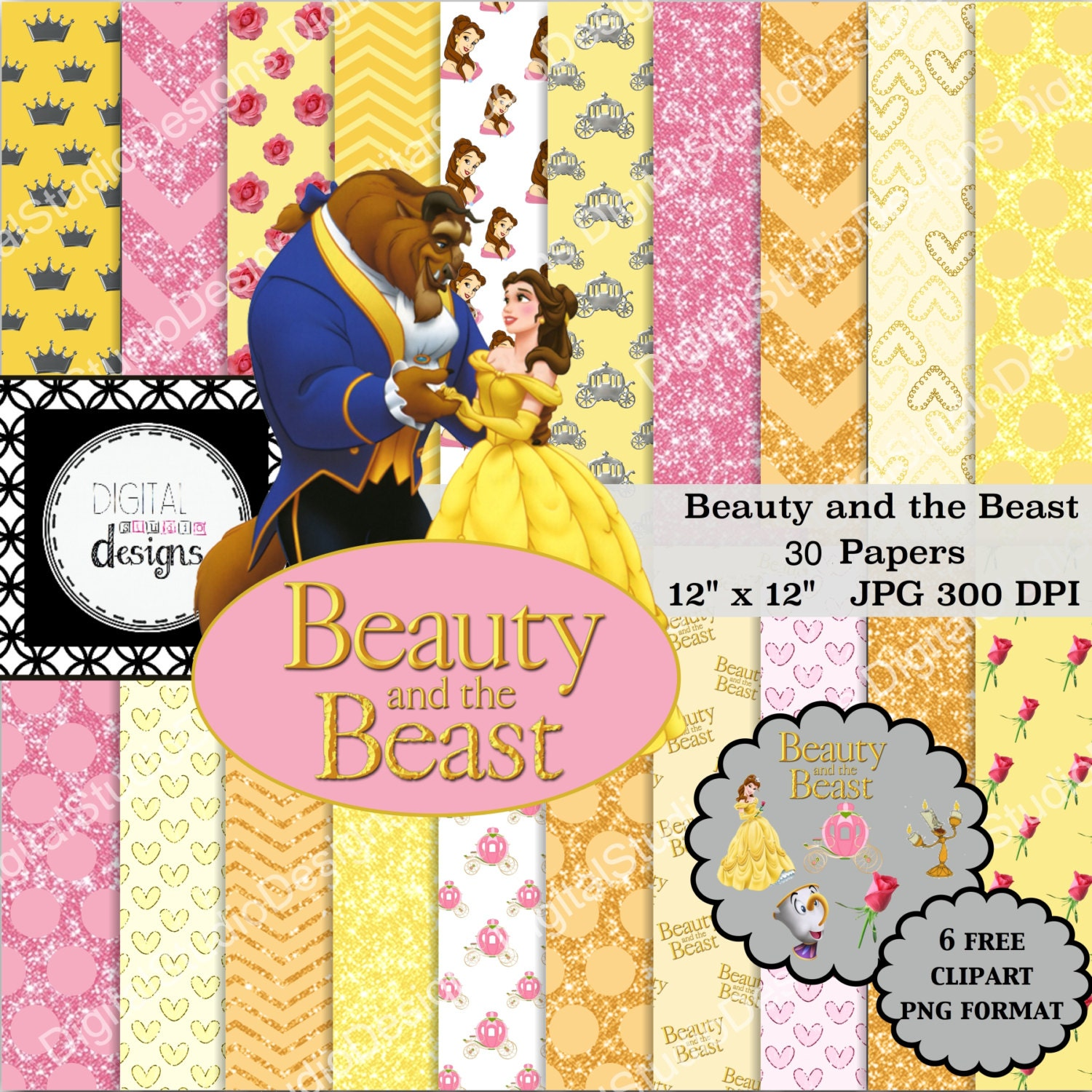 Beauty and the beast paper