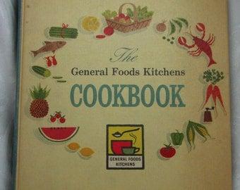 General Foods Kitchens Cookbook, Vintage Cookbook, Vintage Cooking, Vintage Kitchen, VHIS