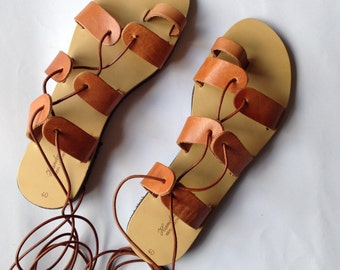 Gladiator Sandals, women leather sandals, handmade Sandals genuine leather
