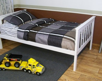 Twin Bed or Full Bed Mission or Shaker Style FREE Shipping