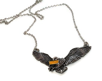 Harry Potter Hedwig Necklace, Owl Necklace, Hogwarts Letter, Harry Potter Owl, Harry Potter Jewelry
