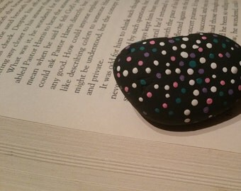 Painted Rock Paperweight