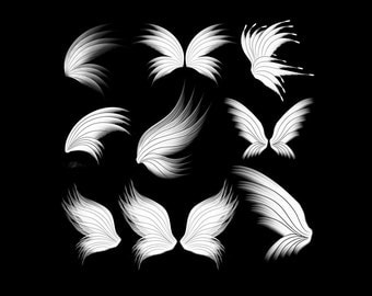 Photoshop Brushes, Brushes Photoshop, Brush Photoshop, Digital Brushes, Brushes Digital, Wings Brushes, Brushes Wings