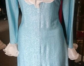 Vintage 1960's Long Dress