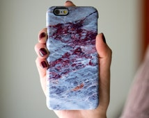 Blue Marble Phone Case iPhone 6 Plus iPhone 6S Plus iPhone 5 5S Case Stone Marble Samsung Galaxy S5 Case Samsung Galaxy S6 Edge Note 5 Case