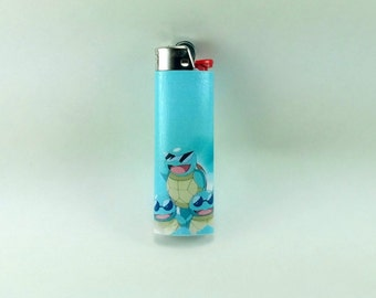 Custom Pokemon Squirtle's in Sunglasses Lighter