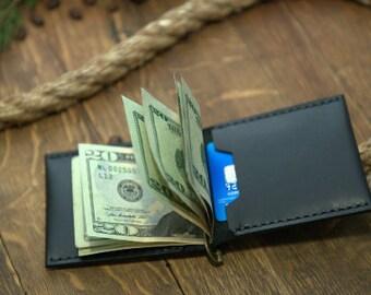 Groomsmen Gift, Wallet, Leather Wallet, Money Clip Wallet,  Money Clip Wallet, Handcrafted wallet,groomsmen wallet, groomsmen gifts
