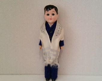 Vintage Rabbi Doll