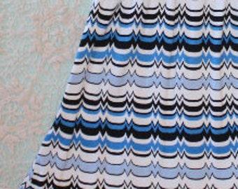 Upcycled girls dress, Royal blue girls dress, Girls size 4 dress, Toddler blue dress, Girls chevron dress, Toddler chevron dress, Chevron