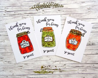 Thank You Cards || Art Postcards
