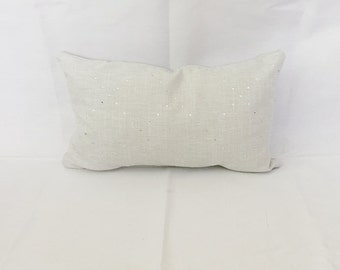 Home and Decor- Baby Nursery Decor- Nursery Pillow- Gray Pillow- Rhinestone Pillow- Nursery Decor- Lumbar Pillow