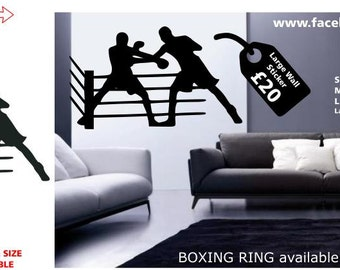 Boxing Ring Wall Sticker